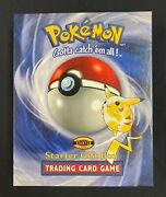 Pokemon Starter Gift Box Trading Card Game 1999 Jungle Booster Pack And 3 Decks