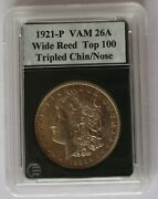 1921 P Vam 26a Wide Reed Trip Chin/nose Bevld Dent Scrib D S Top 100 List 2
