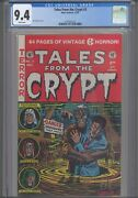 Tales From The Crypt 3 Cgc 9.4 1991 Gladstone Al Feldstein Cover New Frame