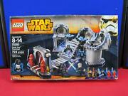 New Sealed Lego Star Wars Death Star Final Duel 75093 Retired Crushed Box