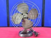 Vintage Emerson Oscillating Electric Fan Model 94646 Not Working For Parts