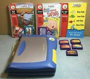 Leap Pad Plus Writing Console W/7 Books And 5 Cartridges Pre-k To First Grade
