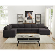Lilola Home Tifton Modular Sectional Sofa With Reversible Chaise