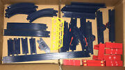 Tomy Train No 3 Lot 60 Parts W/ Box First Train For Little Hands Preschool Toy