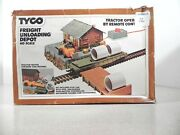 Ho Scale Vintage Tyco 931 Freight Unloading Depot In Original Box New