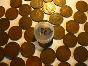 1 Roll 50 Coins 1882 Indian Head Cents Avg. Cirand039s