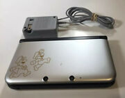 Nintendo 3ds Xl Silver Mario And Luigi Limited Edition W Dream Team Game Installed
