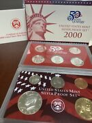 2000-s 90 Silver Proof Set Us Mint Original Government Packaging Box C568