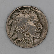 1914 S Buffalo Nickel 5c Choice Au About Uncirculated 2644
