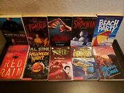 Ya Vintage Scary Horror Stine Athkins Hoh Pike Point Scholastic Thriller Lot