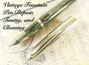 Vintage Fountain Pen Repair Service