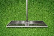 Varomorus Stainless Steel Lawn Level Tool With Handle For Grass Golf Field