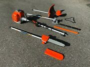 Kasei Gas Long Reach Articulating Hedge Trimmer Weed Eater Brush Cutter Pole Saw