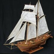 1100 Scale Ship Assembly Boat Model Diy Kits Wooden Sailing Boat Decoration Toy