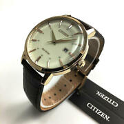 Menand039s Citizen Eco-drive Gold Tone Solar Powered Watch Bm7463-12a