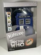 Dr. Who Yahtzee Game 50th Anniversary Collector's Edition Mip