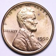 1950 Lincoln Cent Penny Choice Proof Free Shipping E588 Wnm