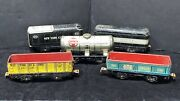 5 - Vintage Tinplate Marx Trains O Scale Middle State Rock Island Ny Central Lot
