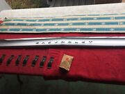 1964 Chevrolet Impala Station Wagon Nos Upper Tailgate Moulding Kit In Gm Wrap