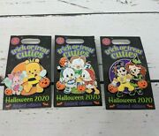 Set Of 3 Disney Trick Or Treat Cuties Limited Edition Halloween 2020 Pins New