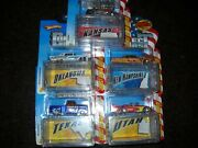 Hot Wheels--connect Cars --state Cars ---1/64 Scale --lot Of 5--see Below-rare