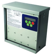 Icm Icm493 - Advanced Single-phase Line Voltage Monitor With A Bank Of Surge Arr