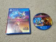 Disneyand039s Classic Games Aladdin And The Lion King Sony Playstation 4 2019 Ps4