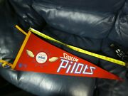 1969 Seattle Pilots Pennant Rare Nicest On Ebay Wonand039t Find A Better One.