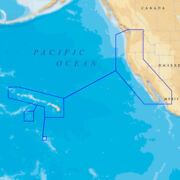 Navionics Platinum+ - Us West Coast - Hawaii - Microsd/sd