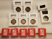 Mcdonalds 50 Years Of Big Mac Collectors Coin - Maccoin Medal - Complete Set Ngc