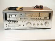 Vintage Soundesign 5928 Am Fm Stereo Cassette Tape 8track Player Receiver Tested