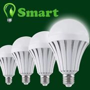 Emergency Bulbs Rechargeable Led Light With Battery Backup Bulb, Pack Of 4