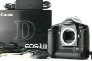 [mint W/ Box And Charger] Canon Eos 1d Mark Ii 8.2mp Digital Slr Camera Japan 606