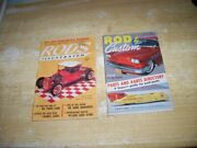 Rods Illustrated Oct, 1958 And Rod And Custom Magazine July 1959