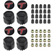 Oer Gta Wheel Center Cap And Nut Set With T-type Emblems 1984-1987 Buick Regal