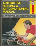 Haynes Automotive Heating And Air Conditioning Systems Ac Repair Manual 1480