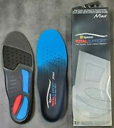Spenco Total Support Max Sport Gym Athletic Arch Supports Shoe Insoles Polysorb