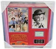 The Dukes Of Hazzard Cast Signed Autographed Framed Photo Collage Bach Wopat Jsa