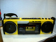 Vintage Very Rear Yellow Sanyo Mgt7a The Outsider Boombox Serviced