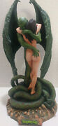 Vampires Kiss Statue By Boris Vallejo Cellar Cast Sculpted By Steve West 15tall