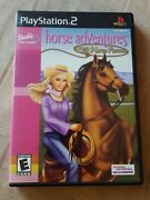 Barbie Horse Adventures Wild Horse Rescue - Playstation 2 Ps2 - Complete