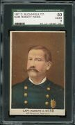 1888 Buchner N288 Police Inspectors And Captains And Fire Chiefs Wartz Sgc 4