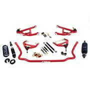 Umi 406401-r 64-67 A-body Corner Max Kit Factory Spindle Red