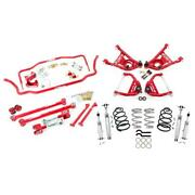Umi Abf407-1-r 65-66 A-body Kit Stage 4 1 Inch Lowering Red