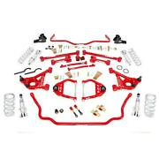 Umi Abf804-2-r 68-72 A-body Stage 2 Kit Coilovers 550lb Red
