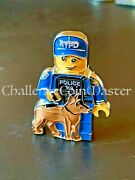 D34 Nypd Lego Police K9 Canine Challenge Coin