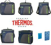 New Genuine Thermos Cooler Navy Bag Insulated Cool Food Storage Camping Picnic