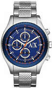 Menand039s Armani Exchange Stainless Steel Chronograph Watch Ax1607