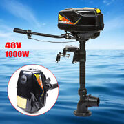 1000w Electric Outboard Brushless Motor Inflatable Boat Engine 48v 4.0jet Pump
