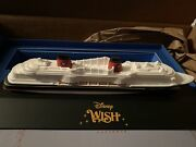 Disney Wish Cruise Ship Augmented Reality Model Storybook Wand And Collectibles